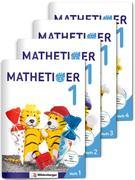 Mathetiger 1 - Jahreszeiten-Hefte (4 Hefte). Neubearbeitung
