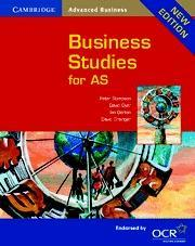 Cambridge Business Studies for AS als Buch