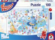 Sorgenfresser. Winterspaß Puzzle 100 Teile (inkl. Poster)