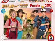 Bibi & Tina, Mädchen gegen Jungs, Puzzle zum Film 200 Teile