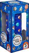 Puzzle Tower für Kinder. Weltraum