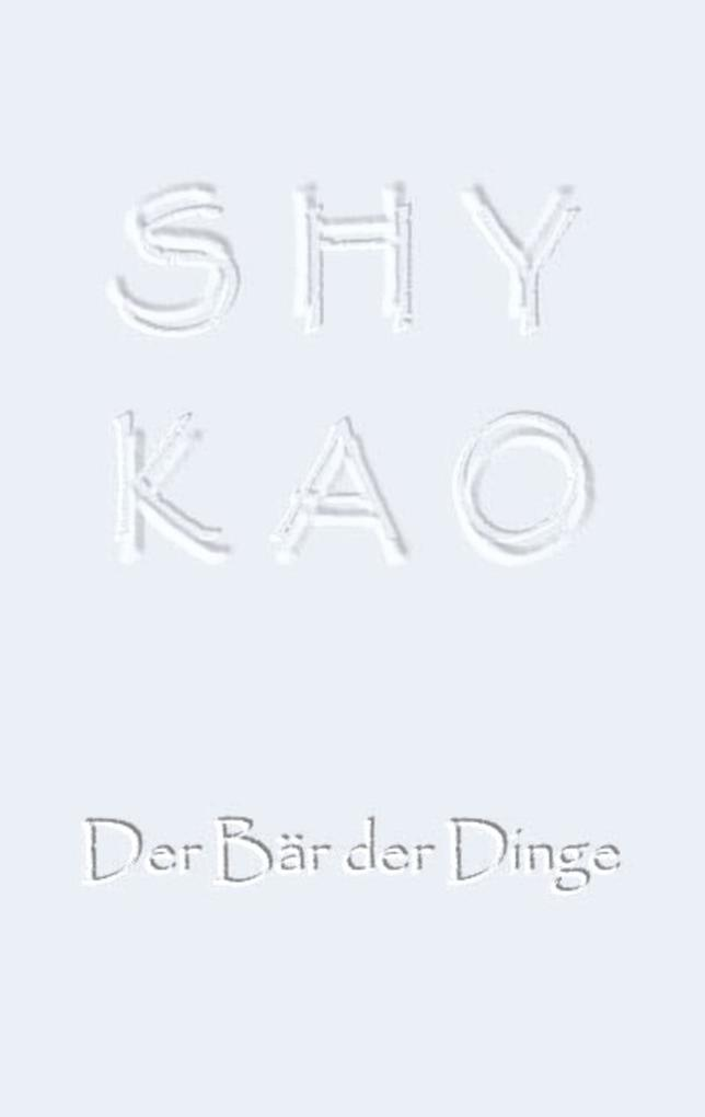 SHYKAO als eBook