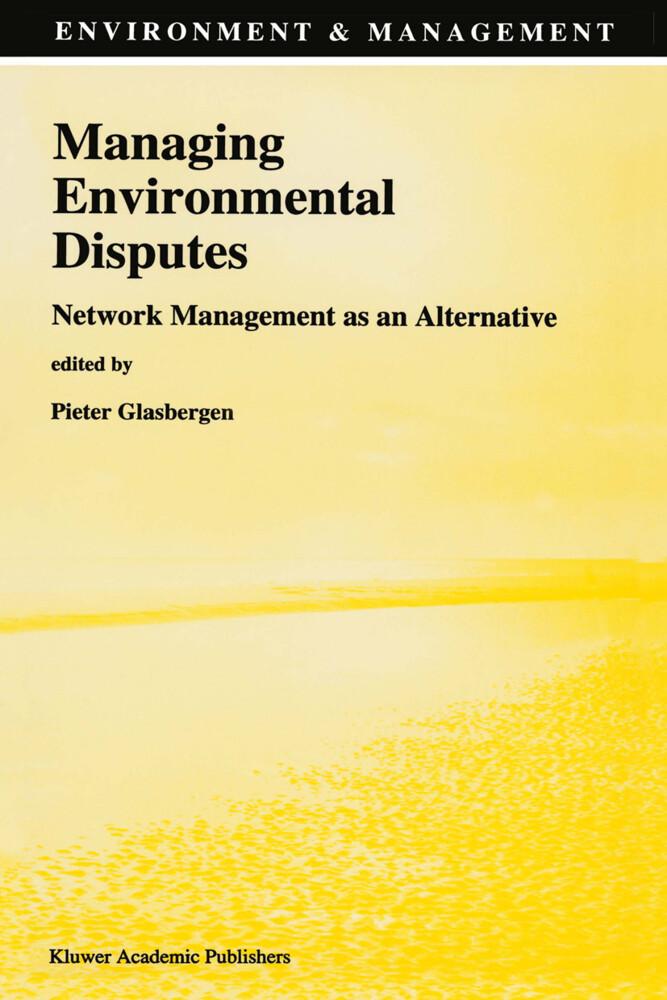 Managing Environmental Disputes als Buch