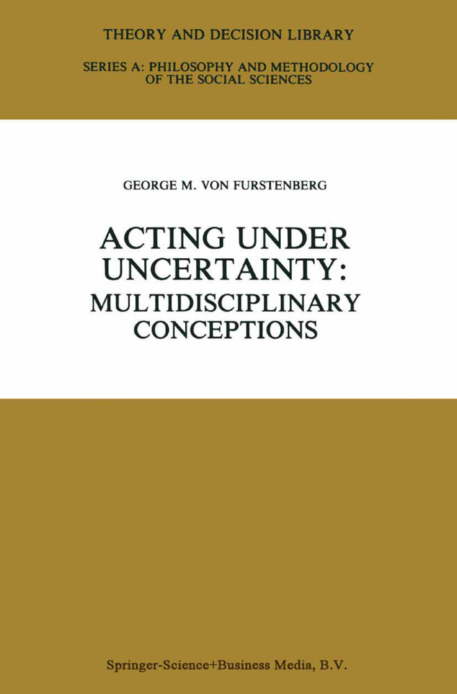 Acting under Uncertainty als Buch