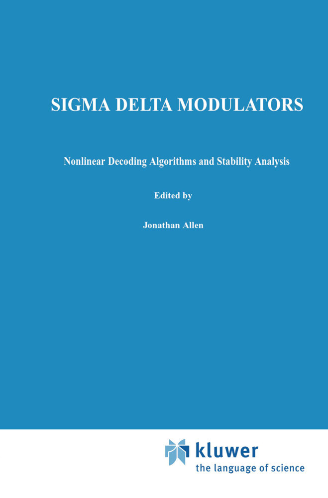 Sigma Delta Modulators als Buch