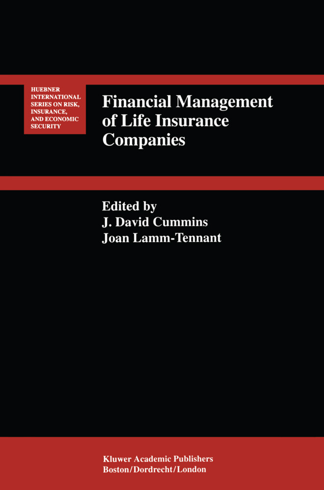 Financial Management of Life Insurance Companies als Buch