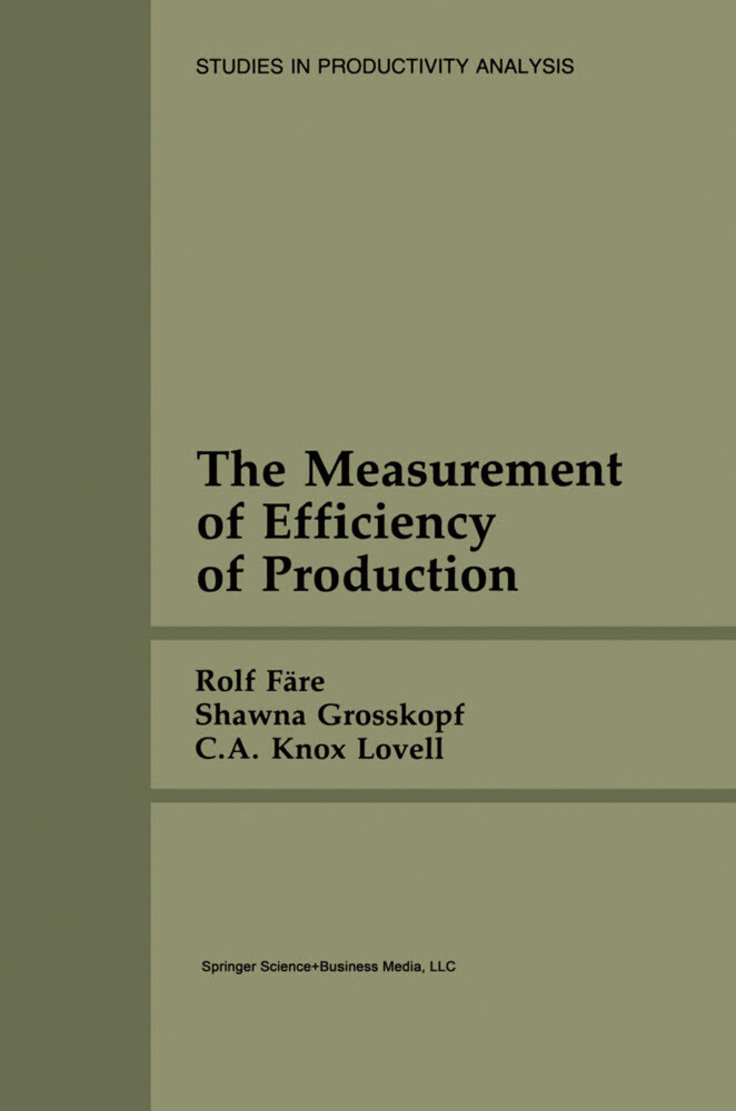 The Measurement of Efficiency of Production als Buch