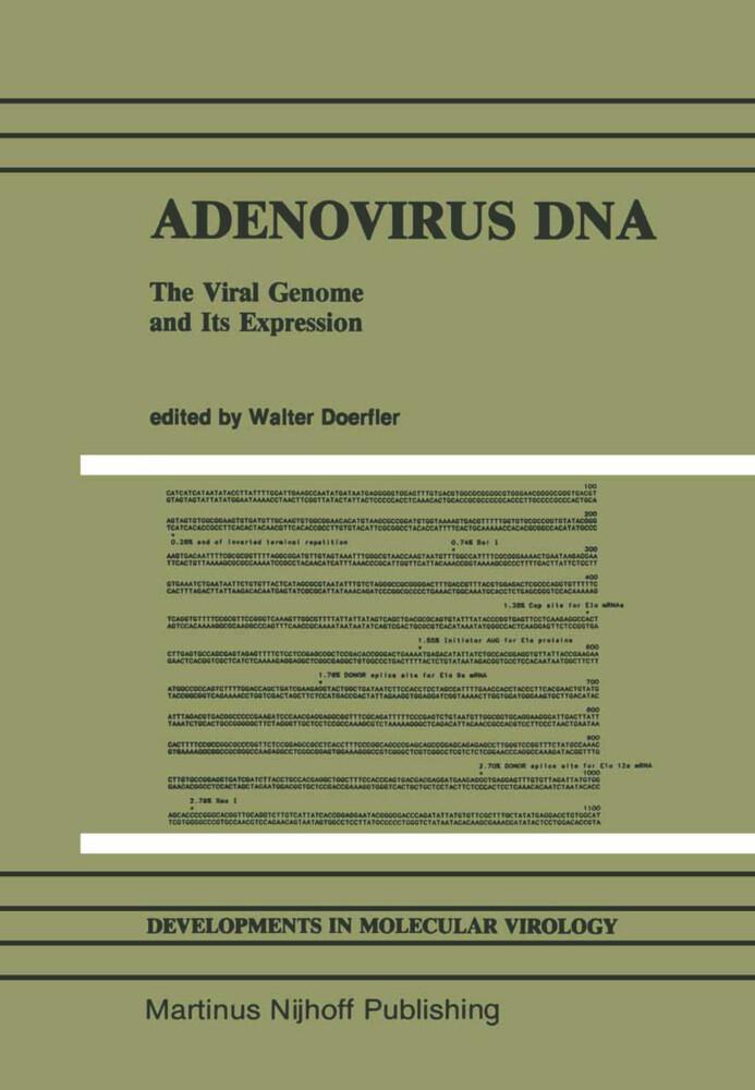 Adenovirus DNA als Buch