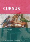 Cursus - Ausgabe A : Arbeitsheft 1 mit Lösungen