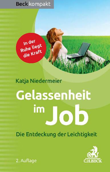 Gelassenheit im Job als Buch
