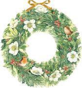 Marjoleins zauberhafter Weihnachtskranz. Wandkalender