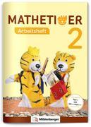 Mathetiger 2 - Arbeitsheft - Neubearbeitung