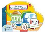 Mein lustiges Fahrzeuge-Malbuch