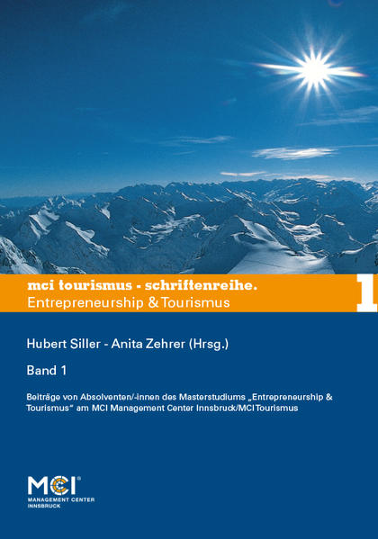 MCI Tourismus - Schriftenreihe Entrepreneurship...