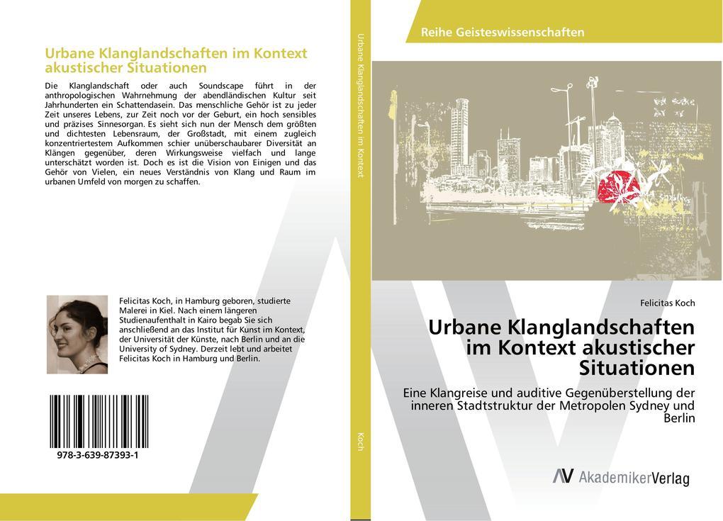 Urbane Klanglandschaften im Kontext akustischer...