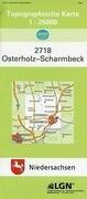 Osterholz-Scharmbeck 1 : 25 000. (TK 2718/N)