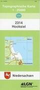 Hooksiel 1 : 25 000. (TK 2314/N)