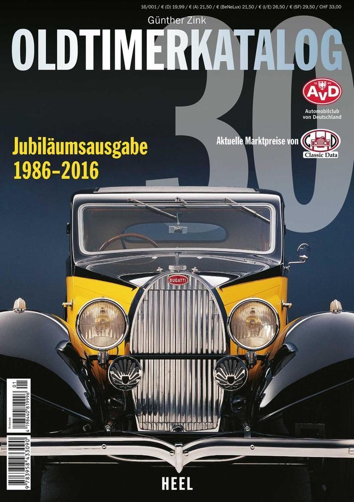 Oldtimer Katalog Nr. 30 als Buch von Günther Zink
