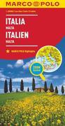 MARCO POLO Länderkarte Italien 1:800 000