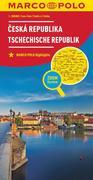 MARCO POLO Länderkarte Tschechische Republik 1:300 000