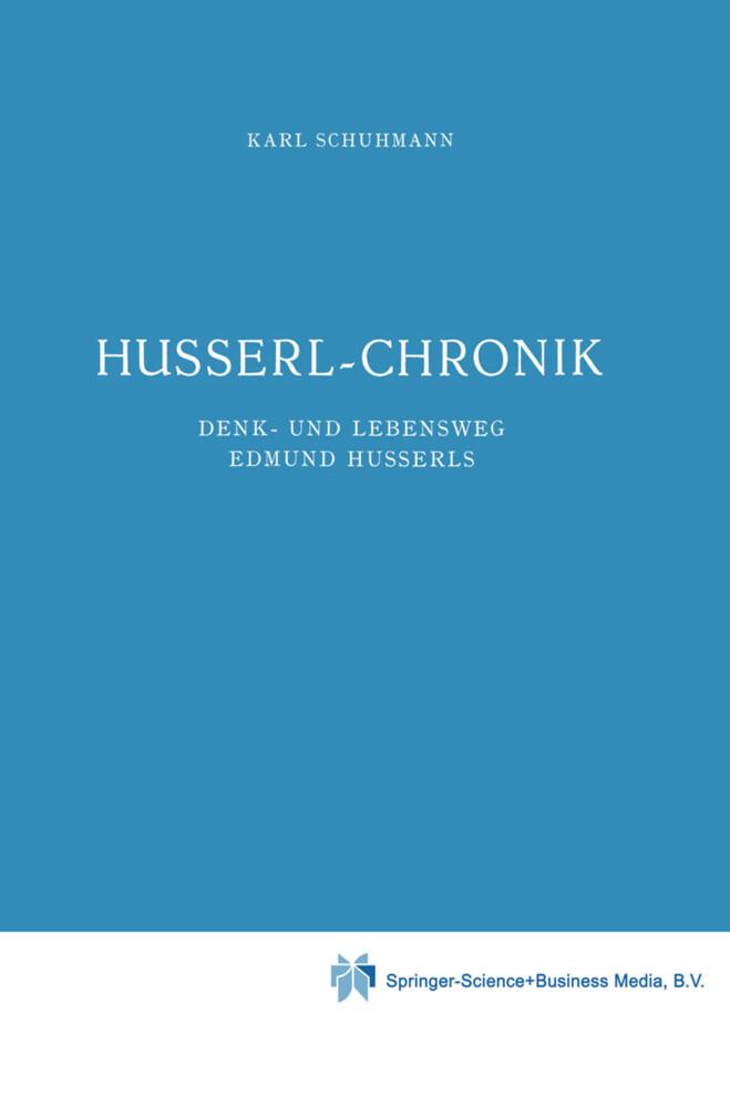 Husserl-Chronik als Buch