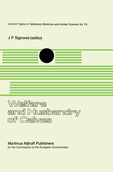 Welfare and Husbandry of Calves als Buch (gebunden)
