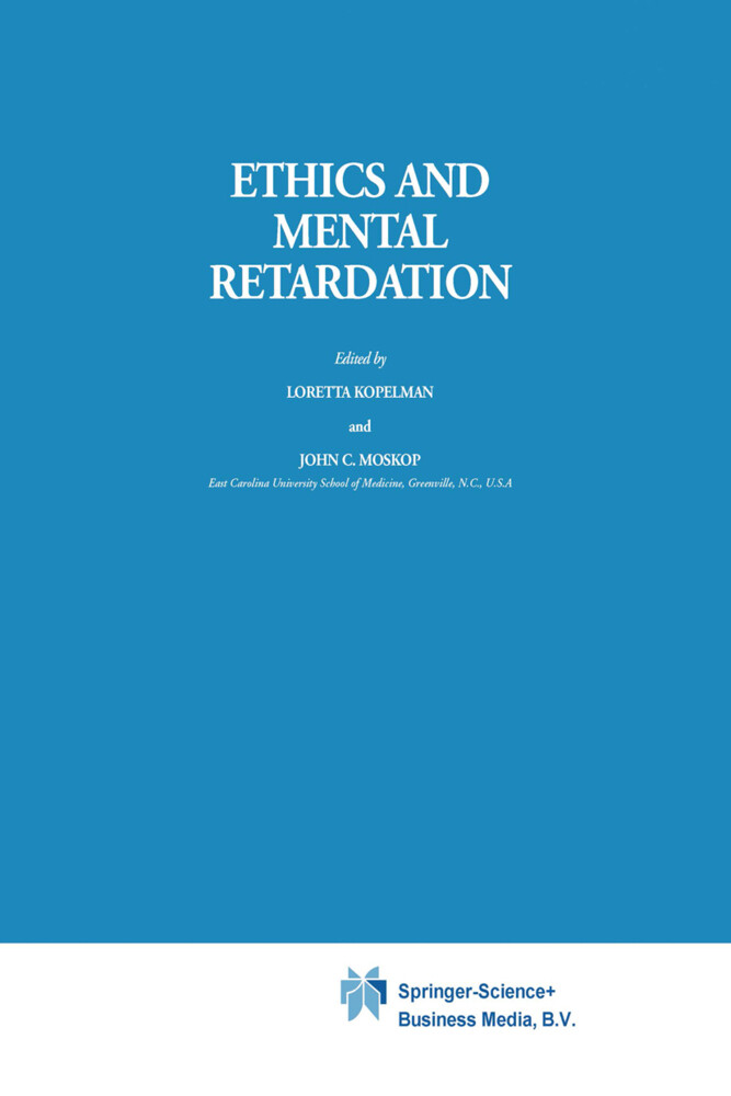Ethics and Mental Retardation als Buch