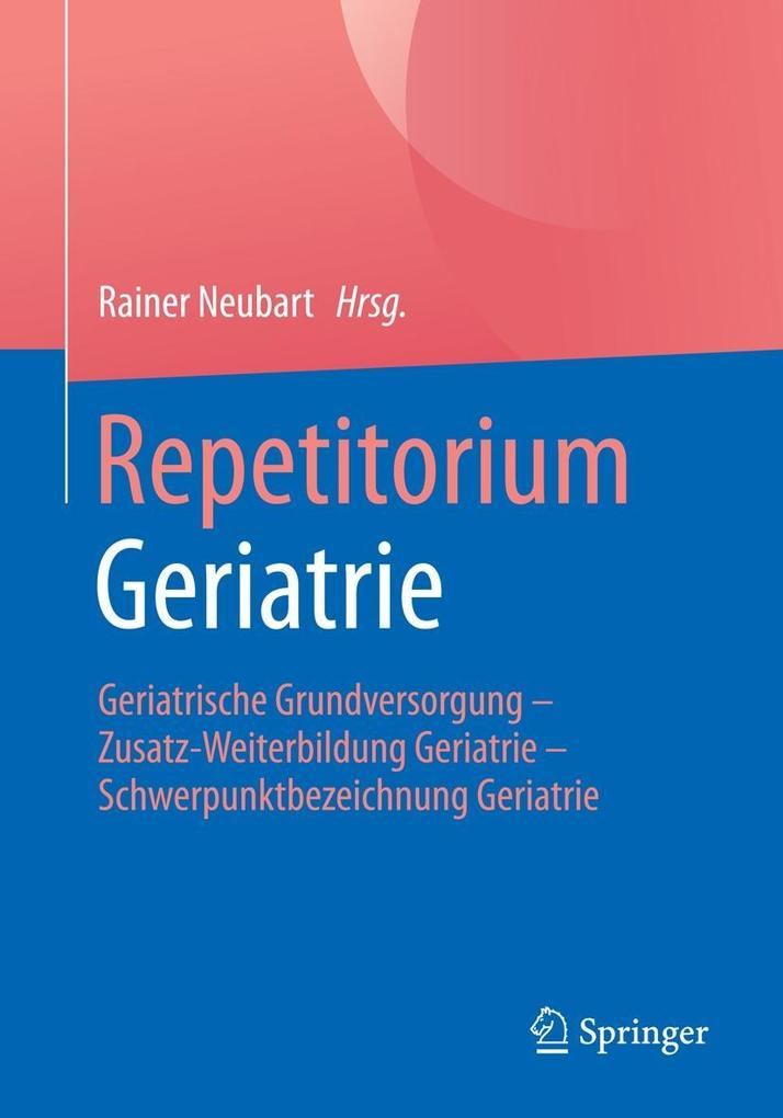 Repetitorium Geriatrie als eBook Download von