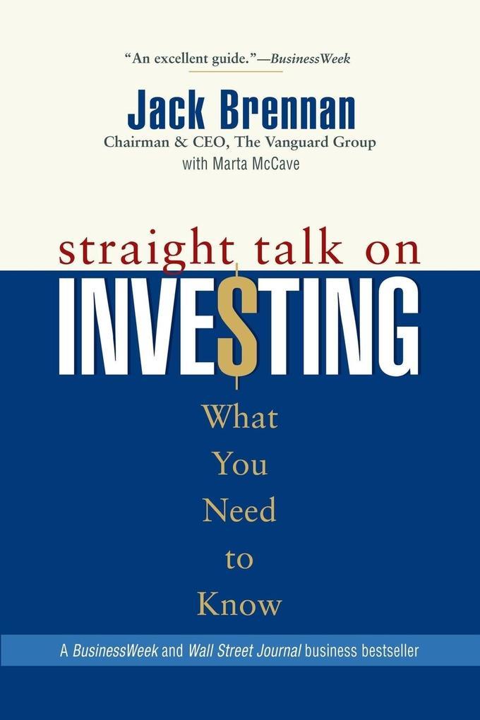 Straight Talk on Investing als Taschenbuch