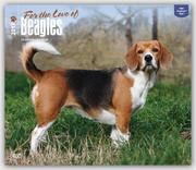 Beagles - For the Love of 2017 - 18-Monatskalender mit freier DogDays-App