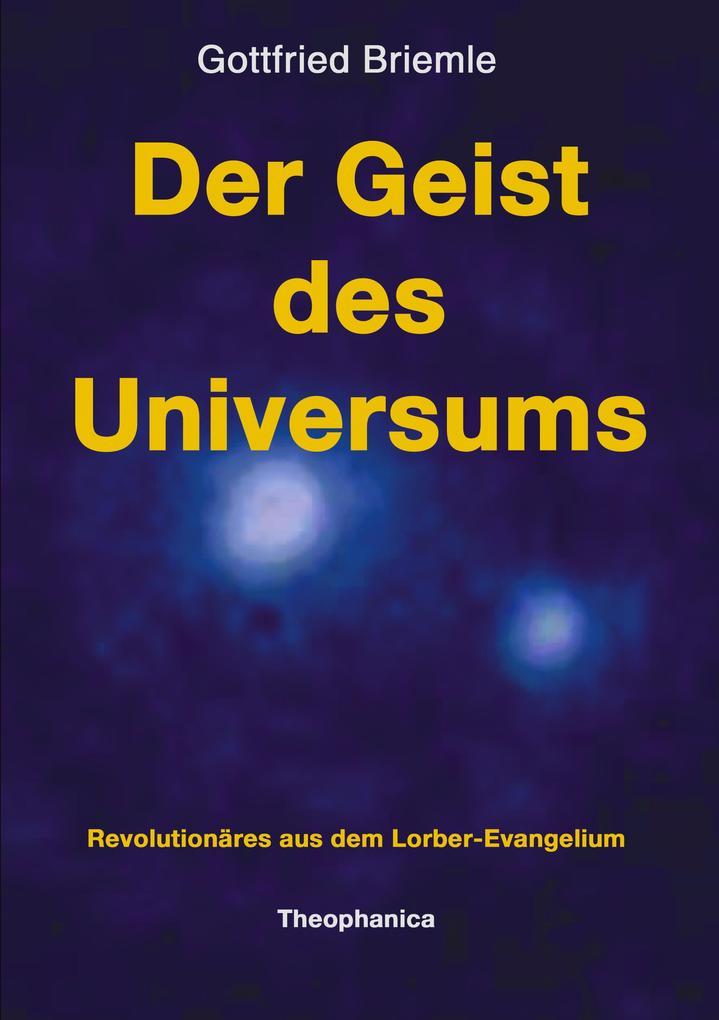 Der Geist des Universums als Buch