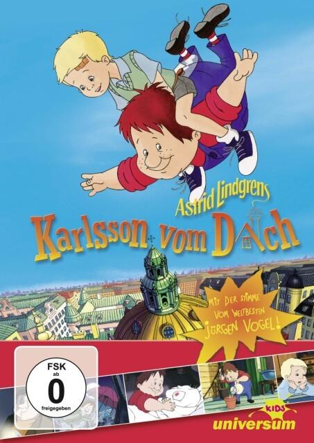 Karlsson vom Dach als DVD