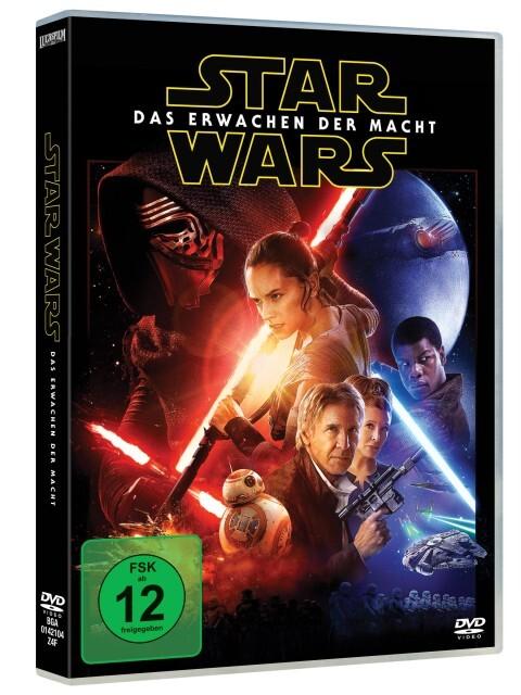 Star Wars: Episode VII - Das Erwachen der Macht als DVD