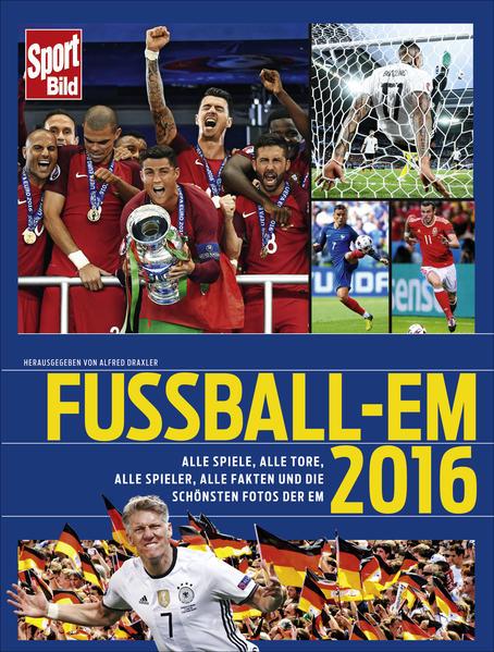 Fußball-EM 2016 als Buch von Alfred Draxler
