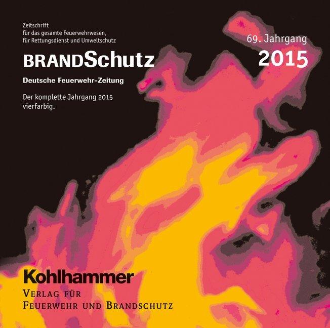 BRANDSchutz 2015 auf CD-ROM