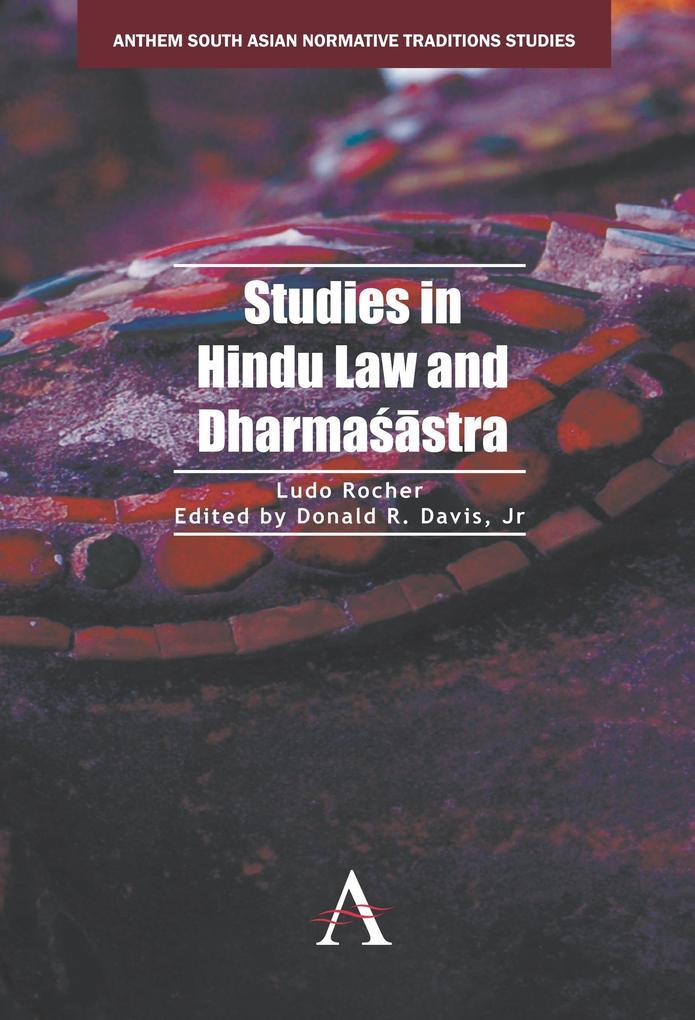 Studies in Hindu Law and Dharma´stra als eBook ...