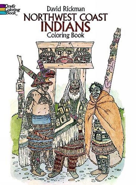 Northwest Coast Indians Coloring Book als Taschenbuch