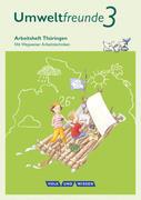 Umweltfreunde 3. Schuljahr - Thüringen - Arbeitsheft