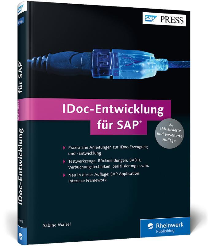 IDoc-Entwicklung für SAP als Buch von Sabine Ma...