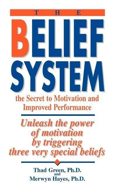 The Belief System: The Secret to Motivation and Improved Performance: Unleash the Power of Motivation by Triggering Three Very Special Be als Taschenbuch