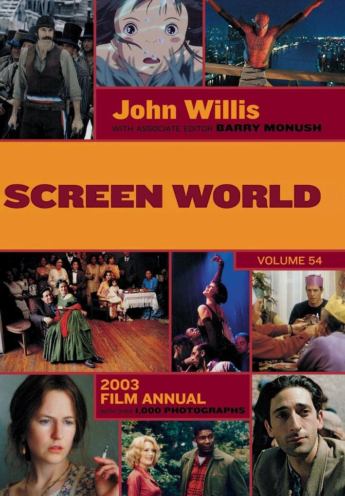 Screen World Volume 54 als Buch
