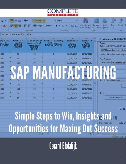 SAP Manufacturing - Simple Steps to Win, Insigh...