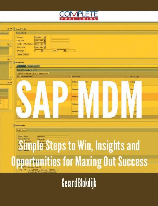SAP MDM - Simple Steps to Win, Insights and Opp...