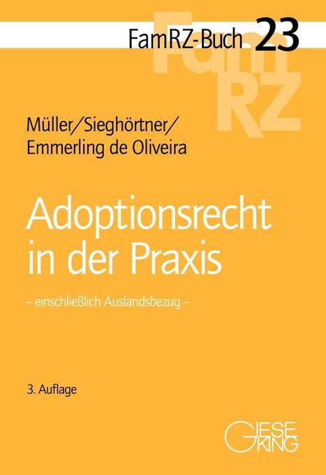 Adoptionsrecht in der Praxis als Buch von Gabri...