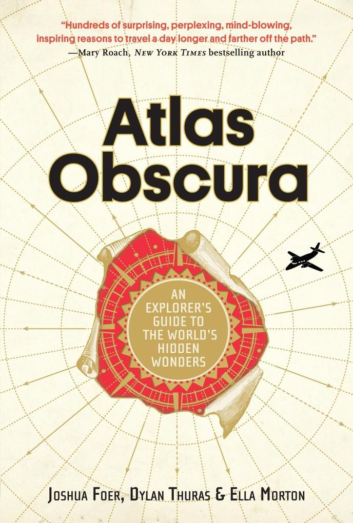 Atlas Obscura als Buch