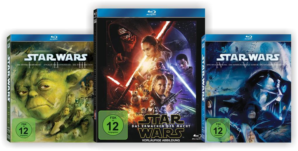 Star Wars: The Complete Saga I-VII als DVD