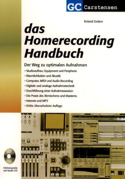 Das Homerecording Handbuch als Buch