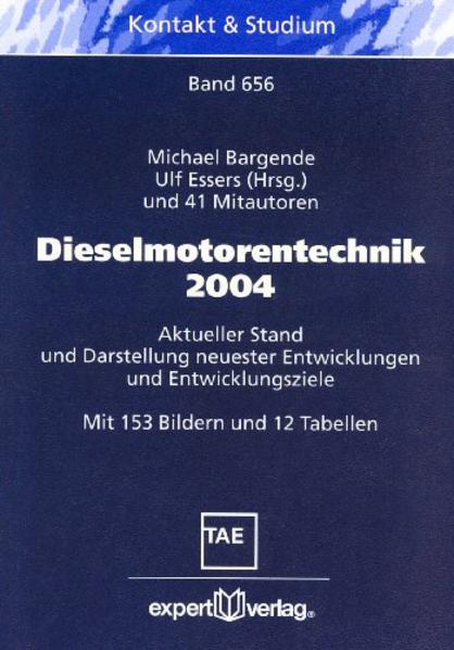 Dieselmotorentechnik 2004 als Buch