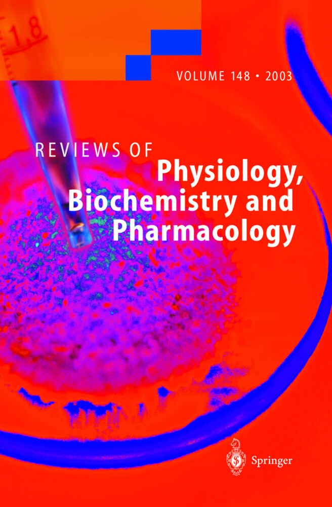 Reviews of Physiology, Biochemistry and Pharmacology als Buch