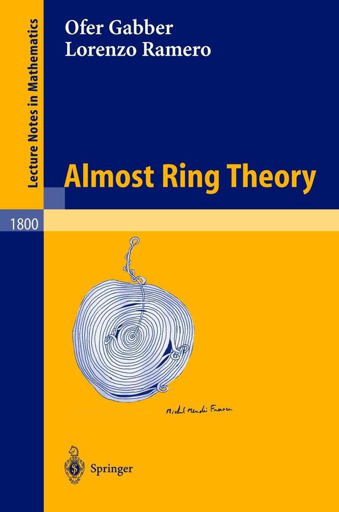 Almost Ring Theory als Buch